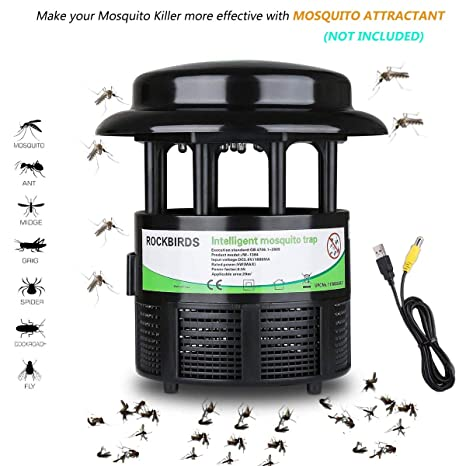 Access Control Kits Electric Mosquito Killer Lamp Led Bug Zapper Anti Mosquito Killer Lamp Insect Trap Lamp Killer Home Living Room Pest Control Ture 100% Guarantee