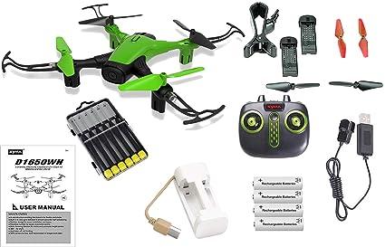 Green Sky Phantom WiFi FPV Drone with HD Camera Live Feed 2.4GHz ...