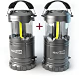 Amazon Price History for:2 x HeroBeam LED Lantern V2.0 with Flashlight - Latest COB Technology emits 300 LUMENS! - Collapsible Tough Lamp - Great Light for Camping, Car, Shop, Attic, Garage - 5 YEAR WARRANTY