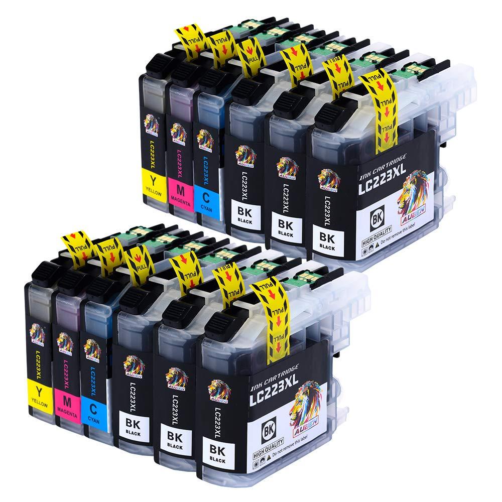 AUBEN Reemplazo para Brother LC223 Cartuchos de Tinta 12 Compatible con Brother MFC-J5320DW J480DW J5720DW J5625DW J4620DW J4420DW J880DW J5620DW ...