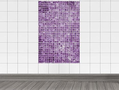 Piastrelle Adesivo Adesivo Per Cucina Motivo Piastrelle A Mosaico