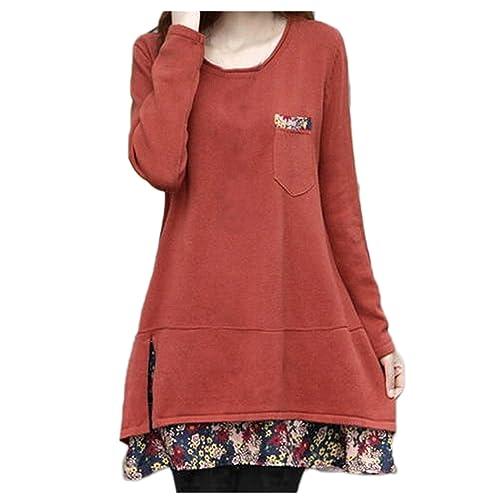 Nonbrand - Camisas - Túnica - Manga Larga - para mujer