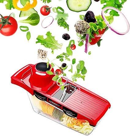 Compra LeRan Ensalada Cortador de Alimentos Chopper Vegetal Fruta ...