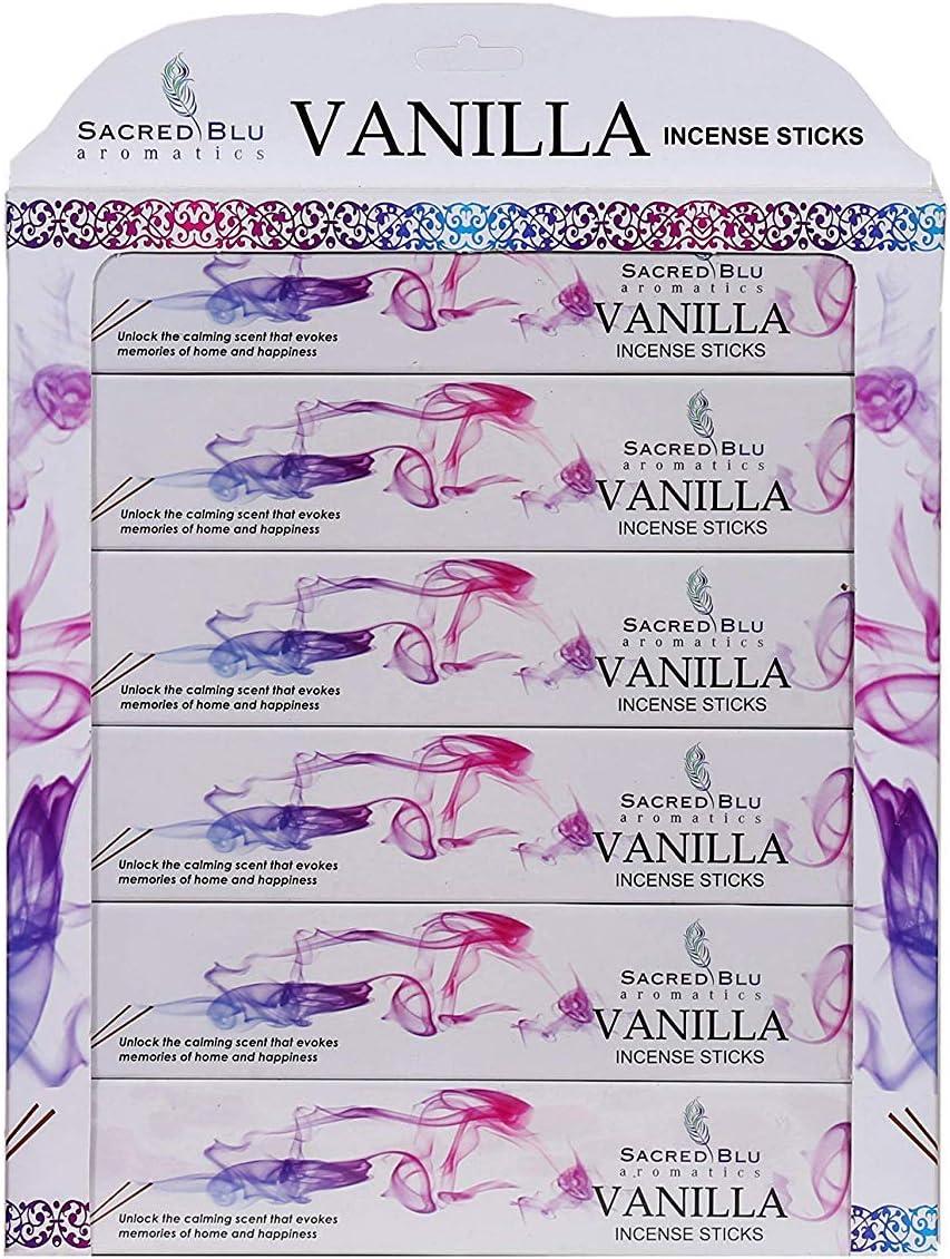 Varillas de incienso de vainilla de GJ Boon, todos los ingredientes veganos naturales hechos a mano sin inmersión química