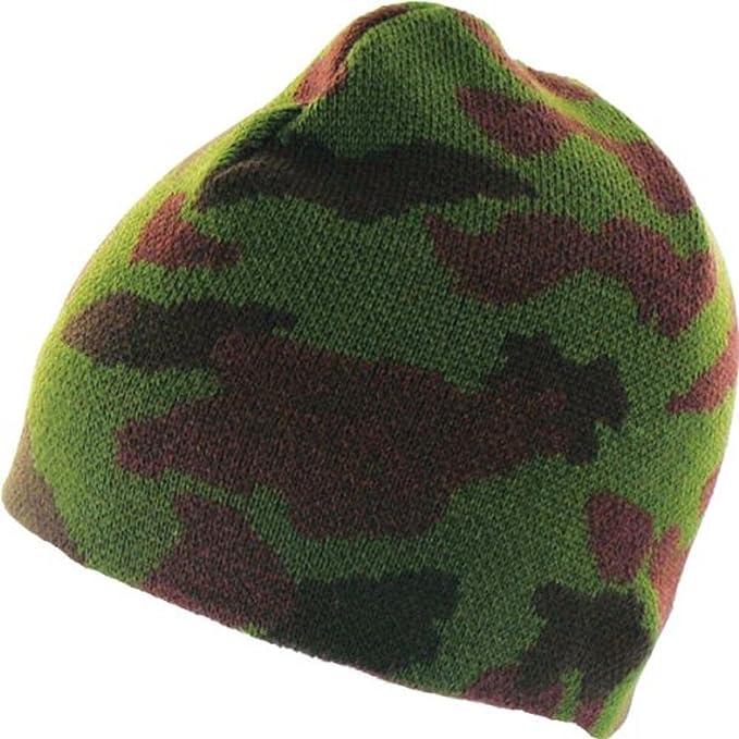 Highlander WARM Beanie Hat Military//army plain Fishing