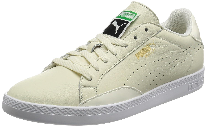 Puma Damen Match Lo Black and White WNs Sneaker  42 EU|Wei? (Marshmallow-white 01)