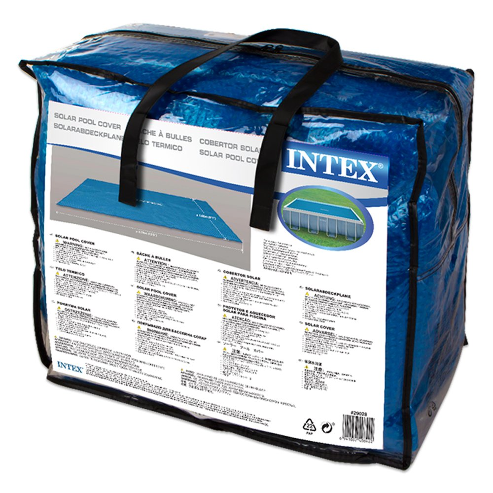 Intex - Cobertor solar para piscinas rectangulares 400 x 200 cm (29028): Amazon.es: Jardín