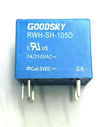 relay rwh sh 105d 7a 5vdc coil sugar cube type amazon in