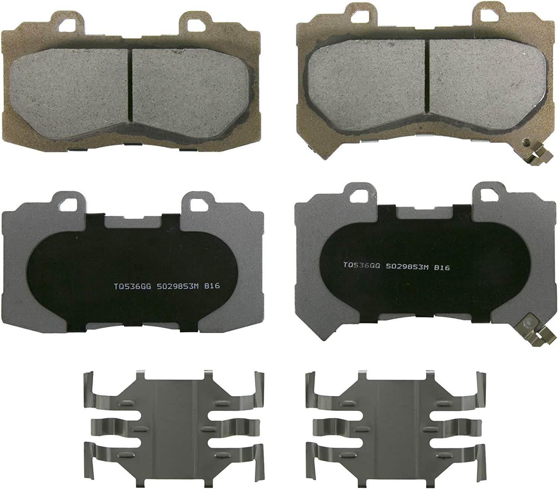 Disc Brake Pad Set-Ceramic Disc Brake Pad Front ACDelco Advantage 14D1802CH