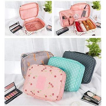 Etuoji Portable Cosmetic Makeup Bag Travel Waterproof Multifunction Toiletry Storage Bag Cosmetic Bags