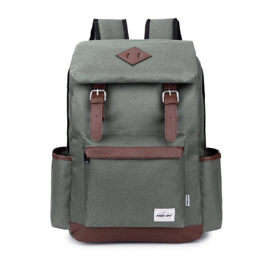 【驚きの値段】 [HEXIN]HEXIN Laptop Backpacks School Book Bag Travel Bag Smoke Back Pack Grey Rucksack Grey HX70119 [並行輸入品] Smoke Grey B01LSABW34, こだわりの手しごと三春:945c7a9f --- trainersnit-com.access.secure-ssl-servers.info