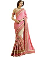 Zofey with Blouse Piece Georgette Saree