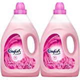Comfort Fabric Softener Flora Soft, 4L (Pack of 2)