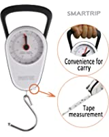 Smartrip Stop and Lock Manual Luggage Scale Mechanical Hanging Scale with Built In Measuring Tape