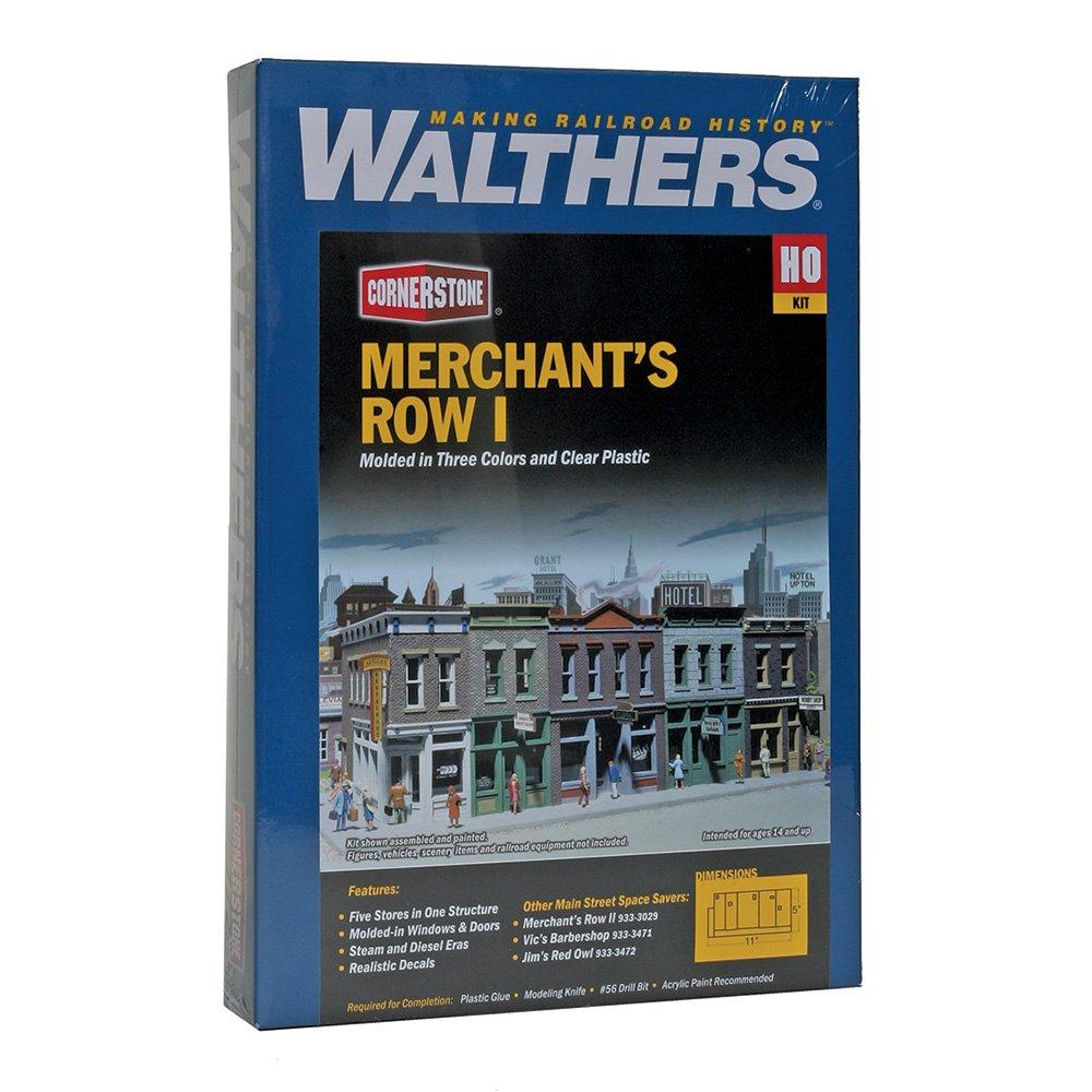 Walthers Cornerstone Series Kit HO Scale Merchants Row I