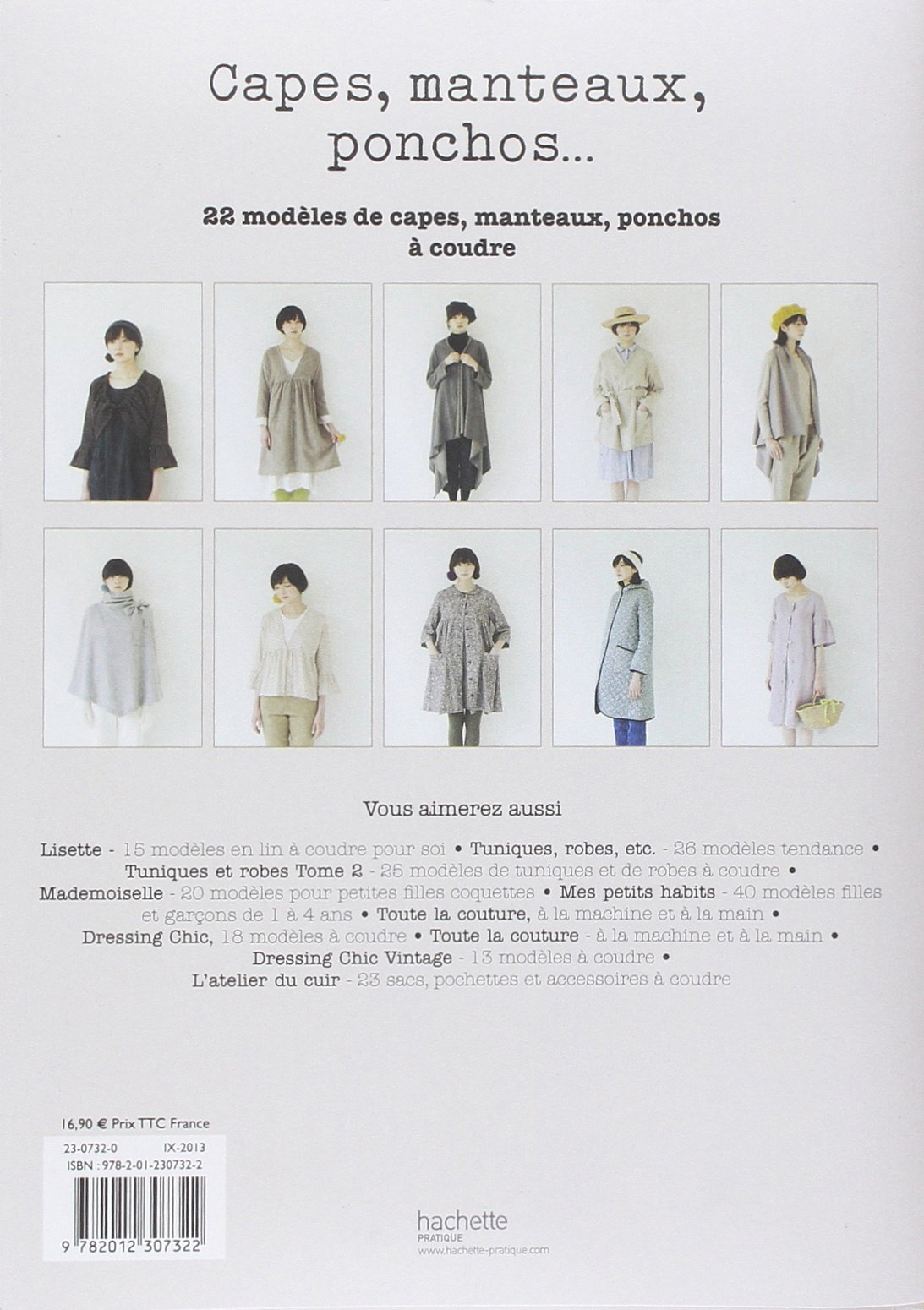 Capes, manteaux, ponchos Tsukiori, Yoshiko