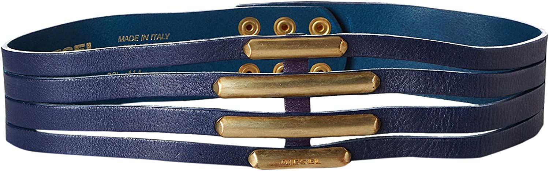 Diesel Cinturón Azul 80 cm