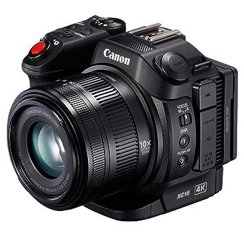 Amazon.com : Canon XC15 4K Professional Camcorder, Black (1456C002 ...