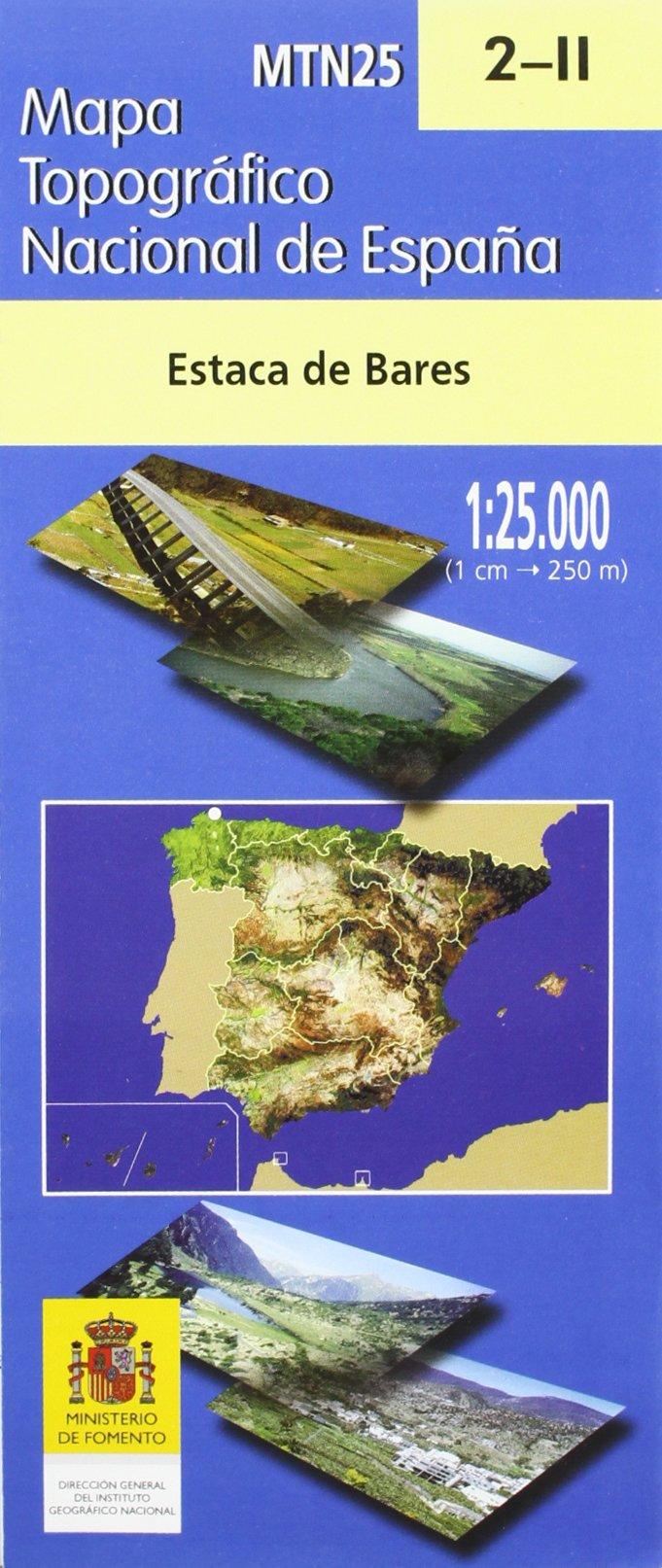 2 Ii Mapa Topografico Estaca De Bares 1 25 0000 Aa Vv