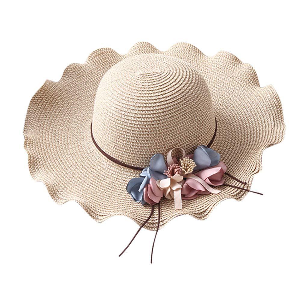 MERICAL Sombrero De Paja con ProteccióN Solar para El Sol Sombrero ...