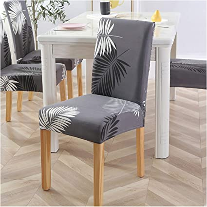Cheryl Norri 22 Colours Chair Covers Floral Modern Protective Cover For Dining Room Wedding Stretch Elastic Furniture Protector Amazon De Kuche Haushalt