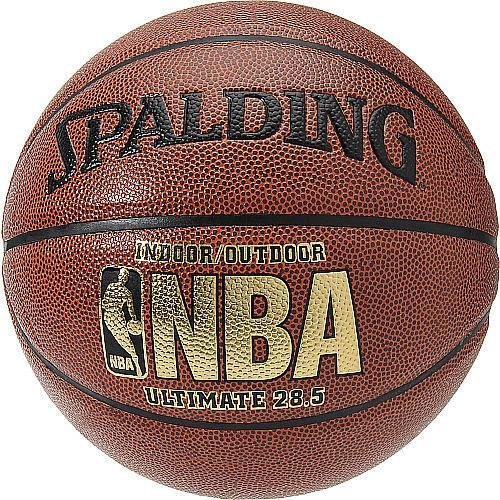 Spalding NBA ULTIMATE INTERMEDIATE 28.5-INCH INDOOR/OUTDOOR COMPOSITE BASKETBALL by Spalding