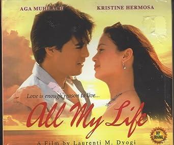 Amazon Com All My Life Video Compact Disc Aga Muhlach Kristine Hermosa Laurenti M Dyogi Movies Tv