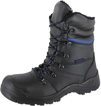 Lazio3 S3 Botas de invierno, botas de seguridad, botas de trabajo cálidas