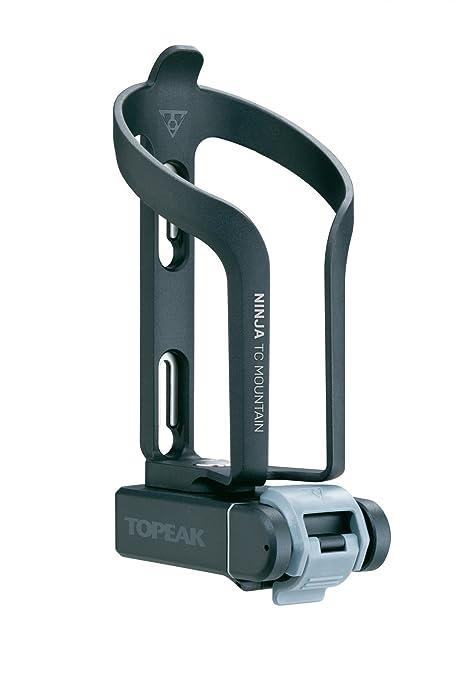 TOPEAK Ninja TC Mountain y Mini 20 Pro Soporte para Botellas, Black, 17.5 x 7.8 x 10 cm