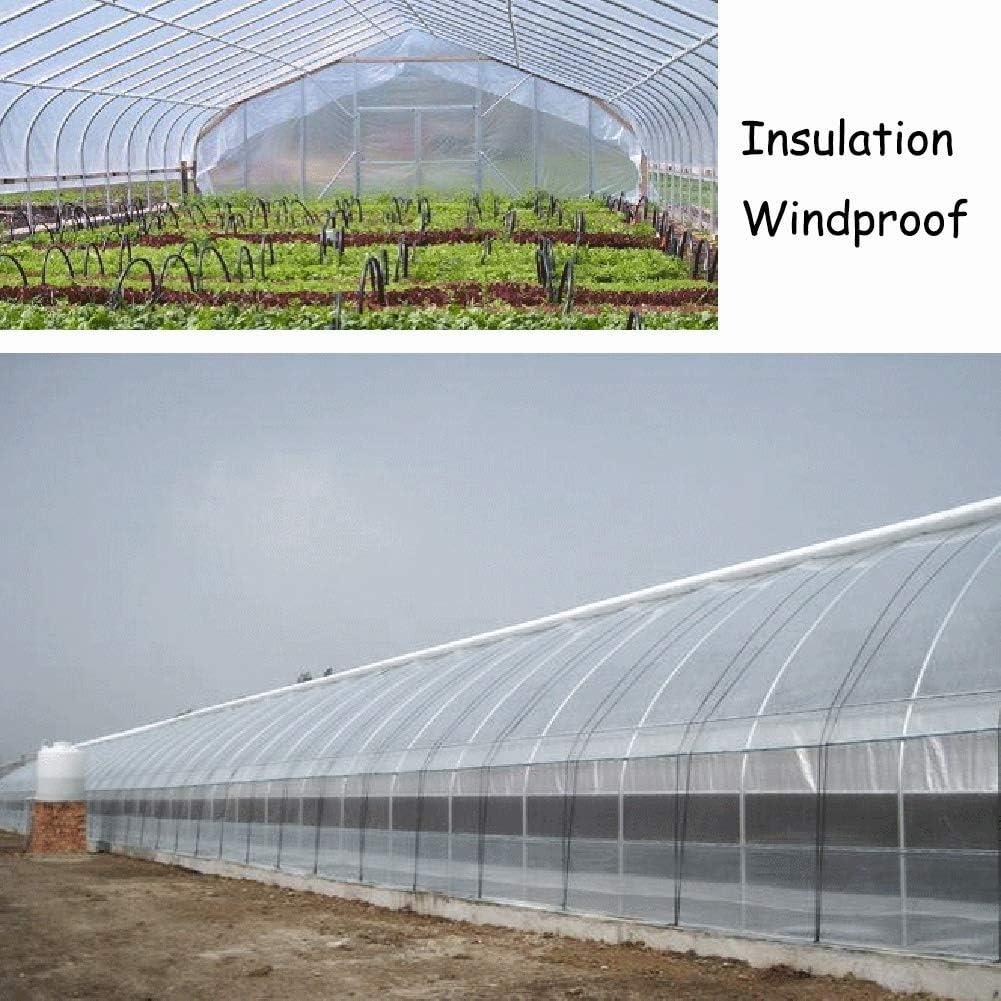 Hochleistungs-Clear-Plane Kunststoff-Falltuch Transparente Tarps UV-best/ändige Folie Terrassenm/öbelabdeckung-1.5X2M durchsichtige Plane Anti-Riss Alaeo wasserdichte