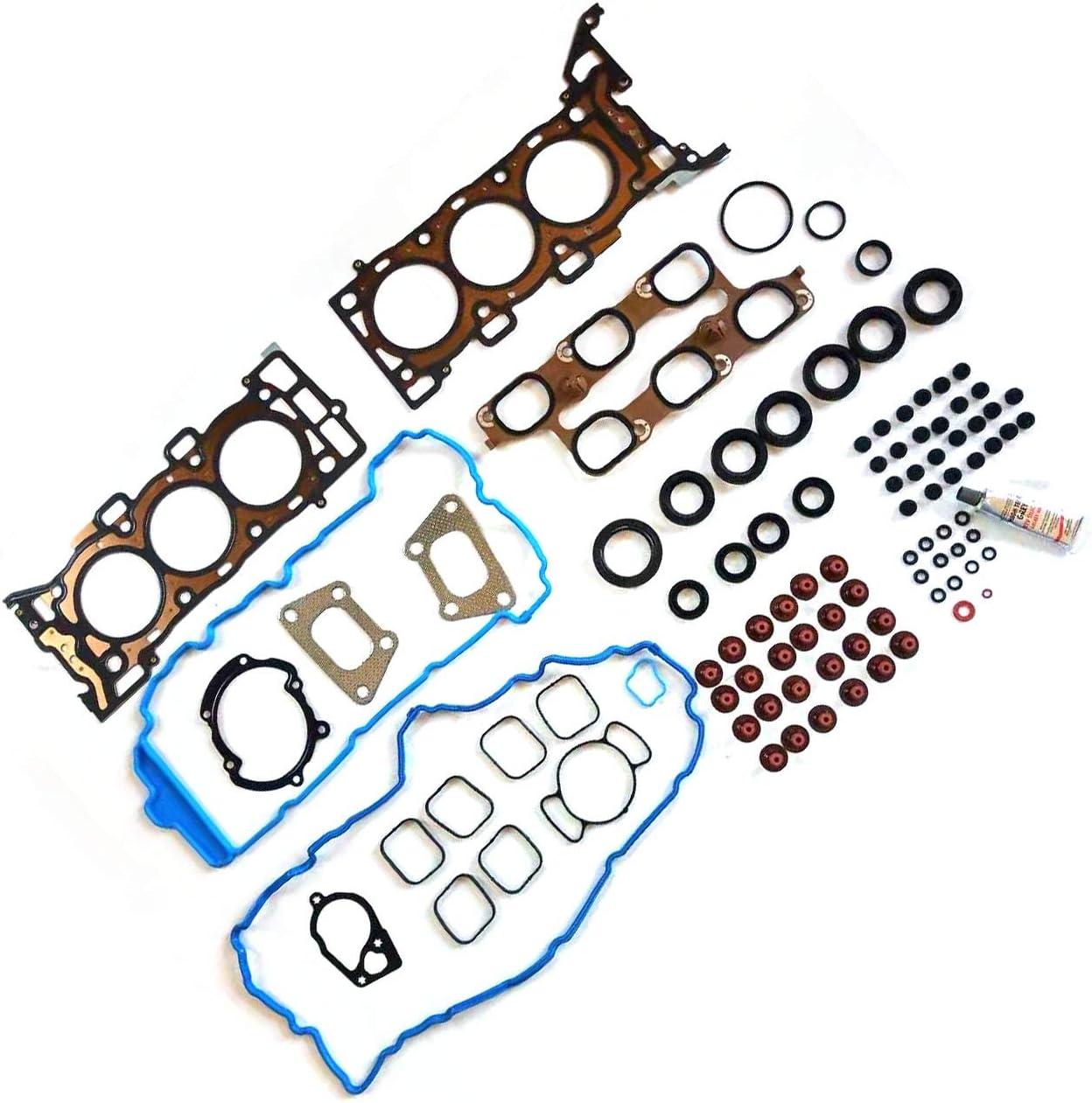 ANPART Automotive Replacement Parts Engine Kits Head Gasket Sets Fit Saab 9-4X 4-Door