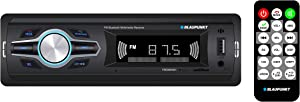 Blaupunkt Fresno421 Media Receiver - Bluetooth, FM Tuner, USB, 2 Channel Output, RCA, Preloaded Presets, Remote Control, SD Card Slot, Easy Installation, Handsfree