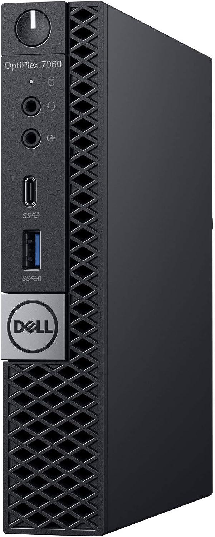 Dell Optiplex 7060 Micro MFF Desktop PC Intel i7-8700T 6-Cores 2.40GHz 16GB DDR4 512GB M.2 NVMe WiFi BT HDMI New Dell KB & Mouse Windows 10 Pro (Renewed)
