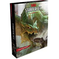Dungeons & Dragons Starter Set (Six Dice, Five Ready-to-Play D&D Characters With Character Sheets, a Rulebook, and One…