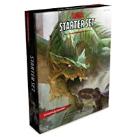 Dungeons & Dragons Starter Set: Six Dice / Five Ready-to-Play D&D Characters With Character Sheets / One Rulebook / One Adventure Book: Fantasy Roleplaying Game Starter Set