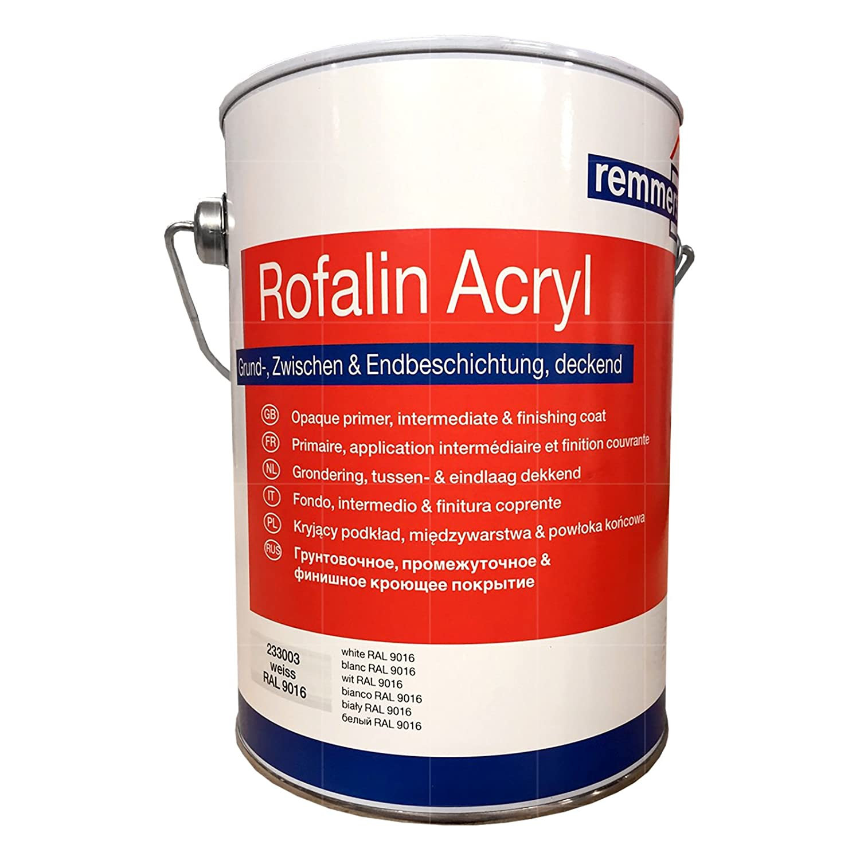Remmers Rofalin Acryl weiss 10l