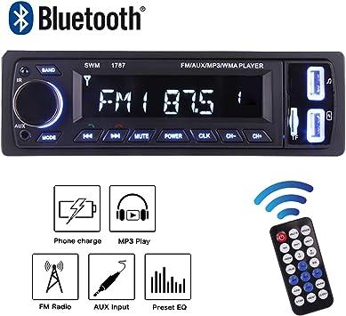 les dernières nouveautés nouvelle apparence bonne vente POMILE Autoradio Bluetooth,Radio de Voiture Stéréo de ...