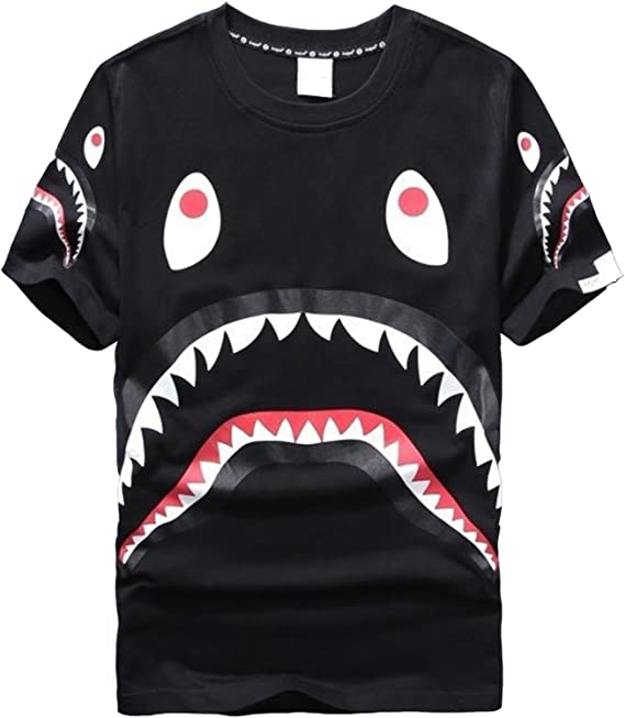 sissiren Unisexe Dents de Requin T-Shirt