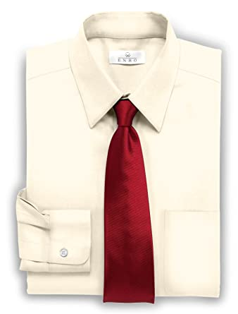 Maroon color pinpoint dress shirt