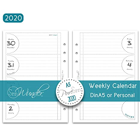Amazon.com: SinnWunder 2019 - Recambio de calendario de ...