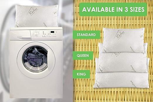 Amazon.com: Relax Home Life Almohadas de espuma ...