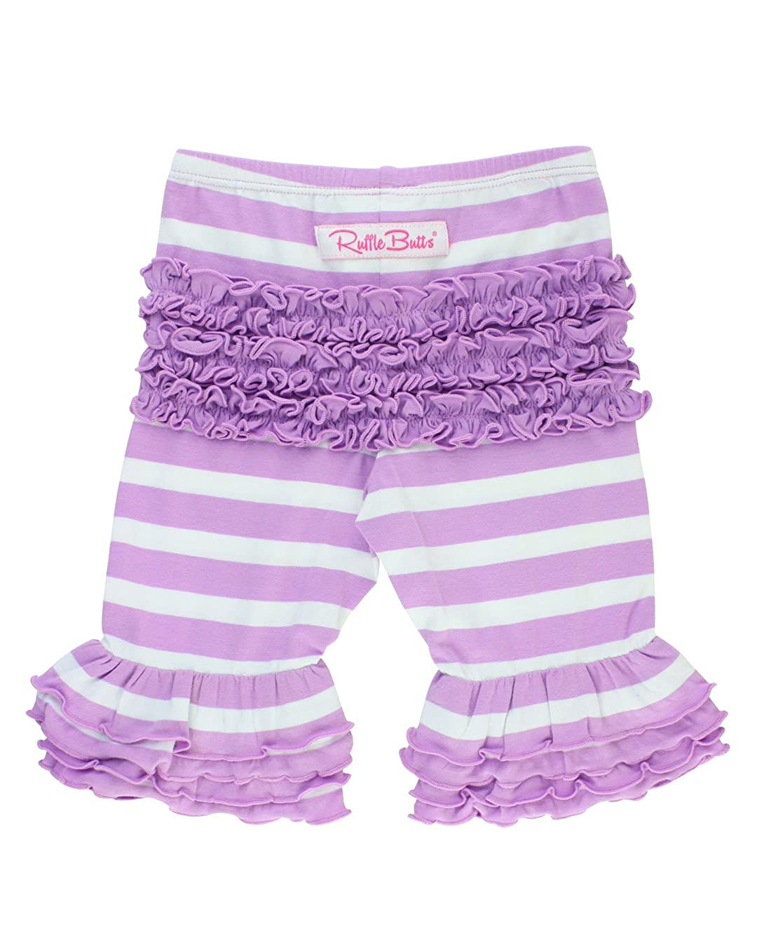 RuffleButts Baby/Toddler Girls Ruffled Bermuda Shorts GTKYYXX-0000-SC-BABY