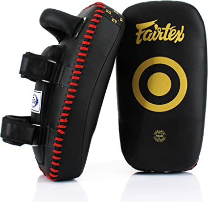 FAIRTEX MUAY THAI PADS KPLC CURVED STANDARD KICK PAD MMA VENUM YOKKAO UFC TIGER