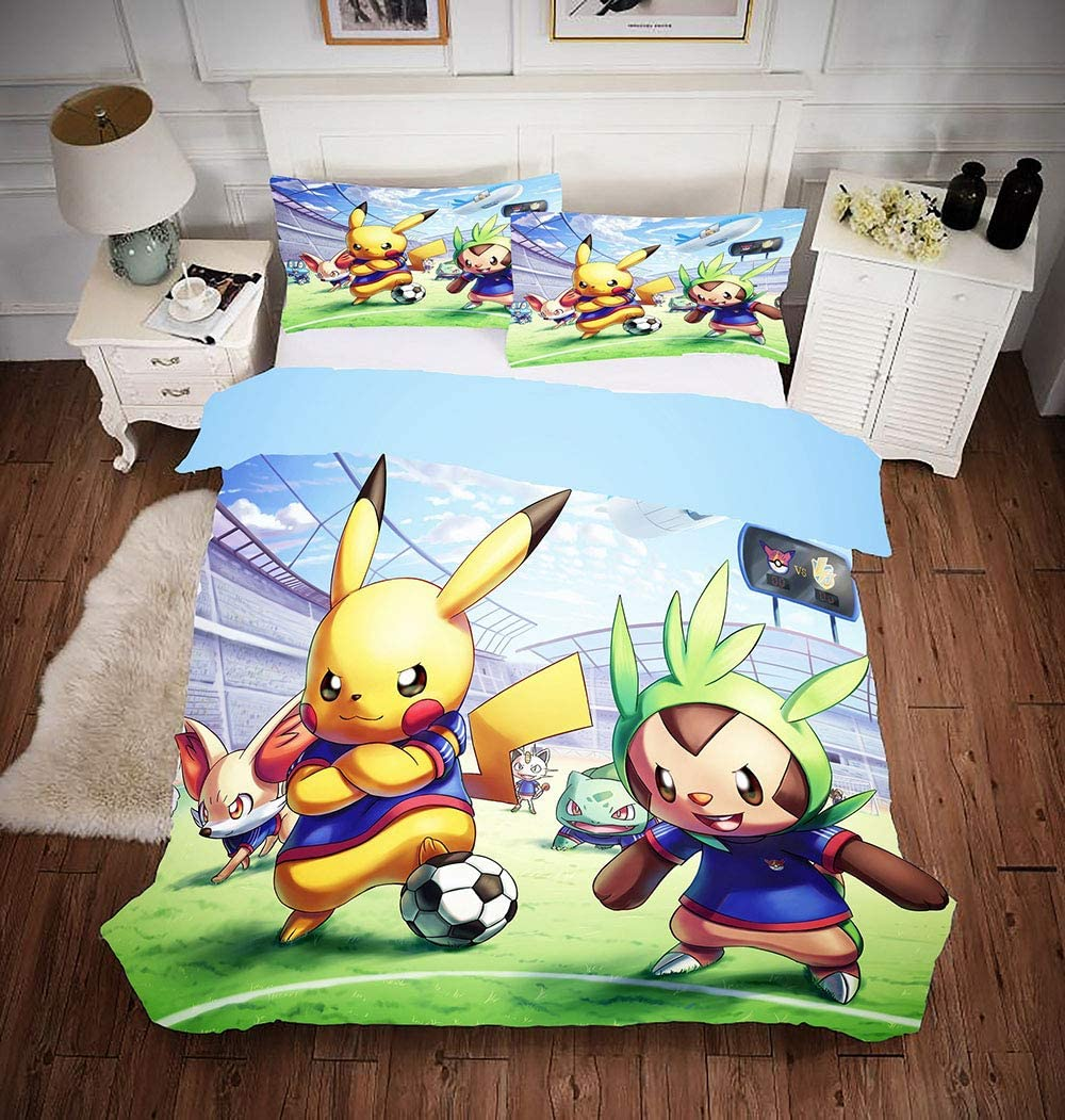 Roblox Duvet Cover Set Soft Comforter Cover Pillowcase Bed Set