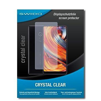2 x SWIDO® Protector de pantalla Xiaomi Mi Mix 2 Protectores de ...