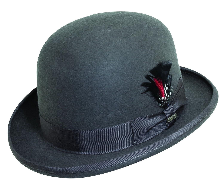 Scala Men's Wool Felt Derby Hat WF506