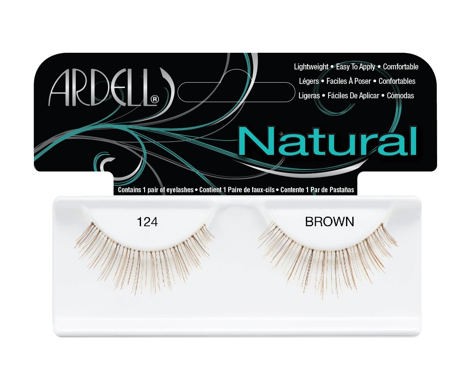 Ardell Fashion Lashes Pair - 124 Demi (Pack of 4)