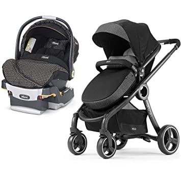 Chicco Urban 6 In 1 Modular Stroller And KeyFit 30 Zip Infant Car Seat Travel System