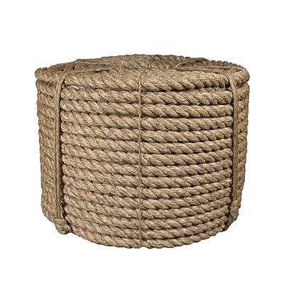 Premium 3/4-inch Manila Rope - 50 Feet