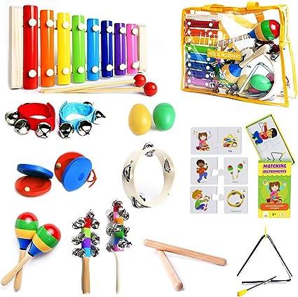 Plastic Castanets Percussion Musical Instrument Education Development Toy JT
